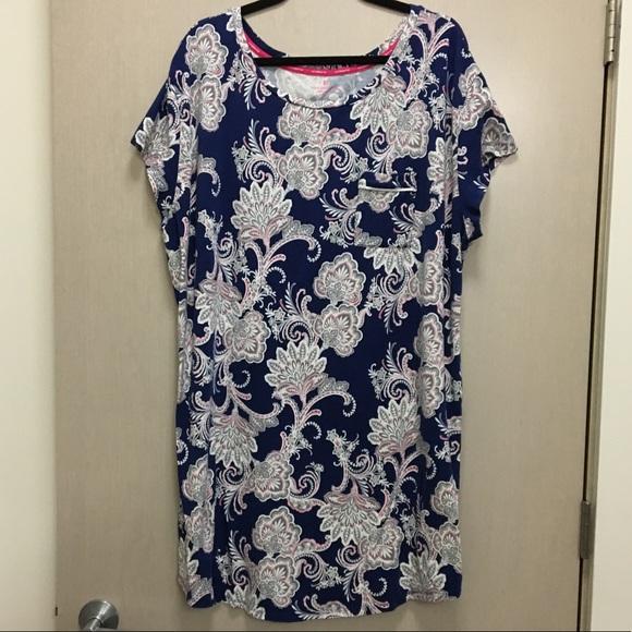Liz Claiborne Other - 💐 Liz Claiborne Sleepwear Sleep Shirt 3X 09faab3a1
